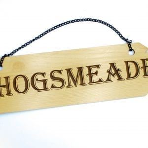 Hogsmeade Wall Sign
