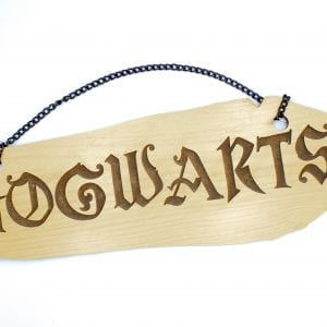 Hogwarts Wall Sign
