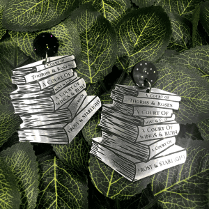 Book Stack Earrings – PreStacked