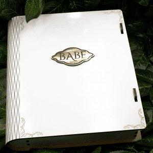 BABE Signature Book Box – White Edition