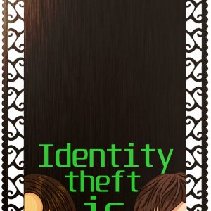 Identity Theft Art Bookmark