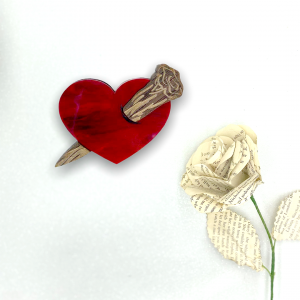 Staked Brooch